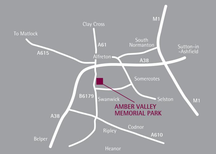 find us  u2013 the amber valley memorial park  u0026 crematorium